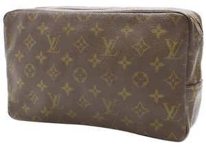 Louis Vuitton Authentic Louis Vuitton Trousse toilette 28 Monogram pouch Canvas Brown