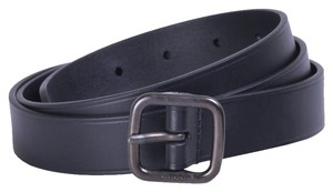 Gucci Gucci belt 357685 deep blue leather size 40