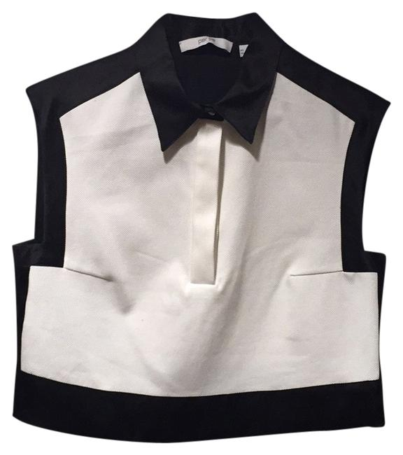 Preload https://item1.tradesy.com/images/black-and-white-blouse-size-4-s-10288105-0-1.jpg?width=400&height=650