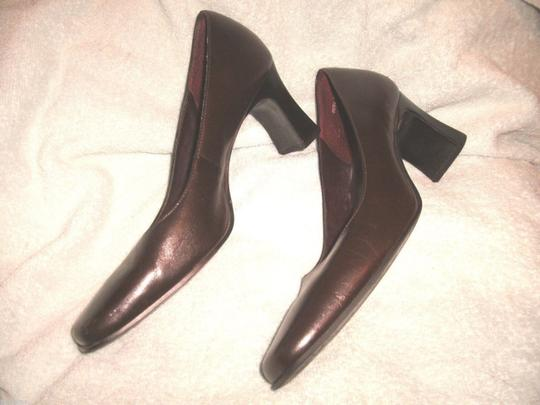Bass Work Church Brown Leather Brown Brown Dress 8m Black Pumps