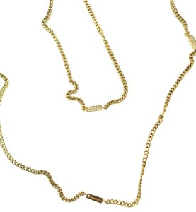 Michael Kors Michael Kors Pave Bars Station Long Necklace