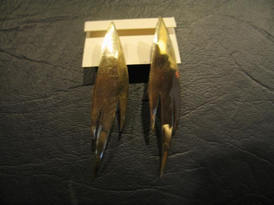 Other Brand New Hand Crafted Brass Earrings - 2-1/4