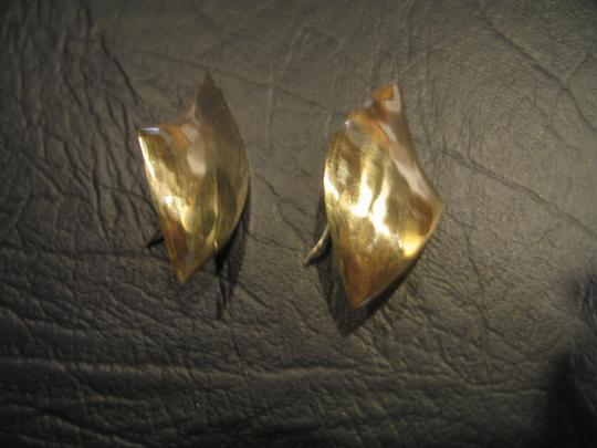 Other Brand New Hand Crafted Brass Earrings - 1/1/4