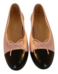 Chanel 39.5 Ballet Light Pink Flats