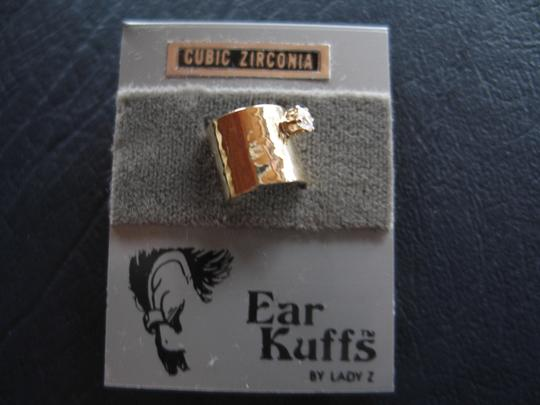 Other Brand New Ear Cuff - Vermeil Finish - Cubic Zirconia -
