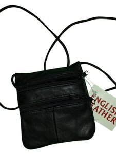 English Leather Small Leather Cross Body Bag