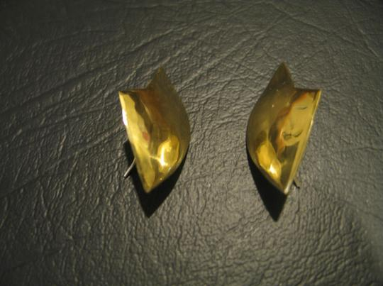 Other Brand New - Hand Crafted Brass Earrings - 1-1/2