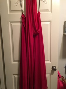 Dessy Claret Dessy Twist Dress Dress