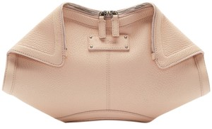 Alexander McQueen Demanta Pink Blush Clutch
