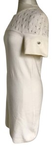 Chanel short dress Ivory on Tradesy
