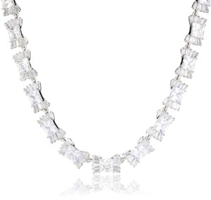 Kate Spade 'le Soir' Cubic Zirconia Bow Bridal Necklace