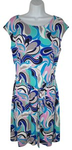 Banana Republic short dress Tunic Knit Mod Paisley Multi on Tradesy