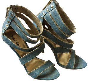 Michael Antonio Blue/Gold Platforms