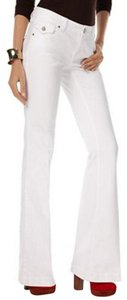 INC International Concepts Low Rise Straight Fit Flare Leg Jeans-Light Wash