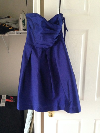 Electric Blue Formal Bridesmaid/Mob Dress Size 2 (XS)