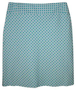 Talbots Pencil Geometric Textured New Skirt