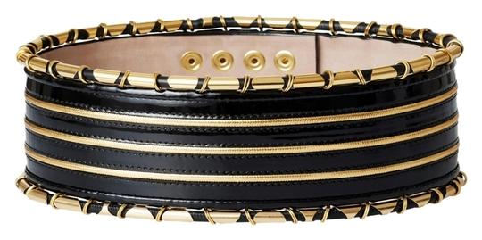 Preload https://item3.tradesy.com/images/balmain-x-h-and-m-blackgold-leather-waist-women-s-size-ml-medium-large-hm-new-made-in-italy-belt-10292362-0-1.jpg?width=440&height=440