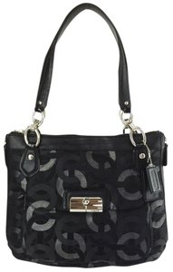 Coach Kristin Metallic Shoulder Bag