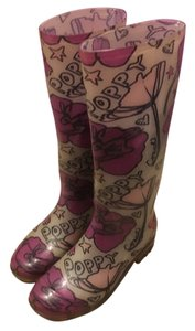 Coach Multicolor flowers Boots