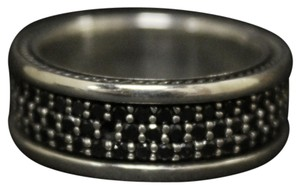 David Yurman David Yurman Mens Black Diamond Ring