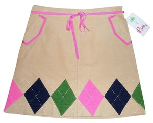 Lilly Pulitzer Mini Skirt Multi-Color
