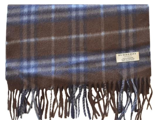 Burberry London Burberry Dark Brown Cashmere Scarf (100% Authentic)