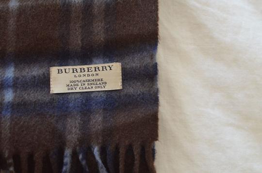 Burberry Burberry Dark Brown Cashmere Scarf (100% Authentic)