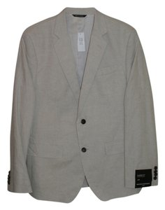 Banana Republic Linen Mens Off White Blazer