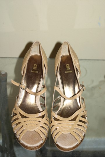 Bakers Natural/Nude Wedges