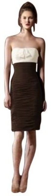 Preload https://img-static.tradesy.com/item/102950/dessy-brown-8107-short-cocktail-dress-size-10-m-0-0-650-650.jpg