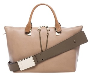 Chlo Satchel in Rope Beige