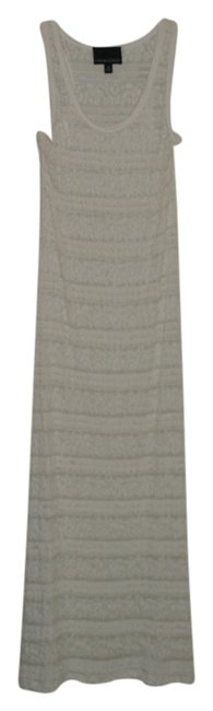 Cream Maxi Dress by Cynthia Rowley Lace Long Bathing Suit Cover