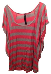 Rodriguez Top Coral/Grey