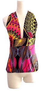 M Missoni multi Halter Top