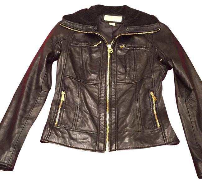Preload https://item1.tradesy.com/images/michael-kors-leather-jacket-size-0-xs-10295800-0-1.jpg?width=400&height=650