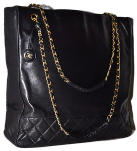 Chanel Paris Tote in Black