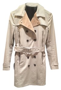 The Kooples Trenchcoat Tan Jacket