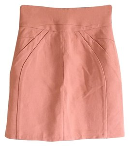Marni Blush Corset Mini Skirt Pink
