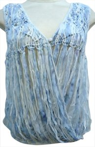 Mark & James by Badgley Mischka Boho Chic Rocker Top Bluesy