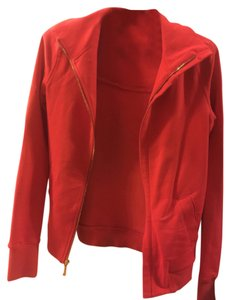 Juicy Couture Zip Up Coral/Red Jacket