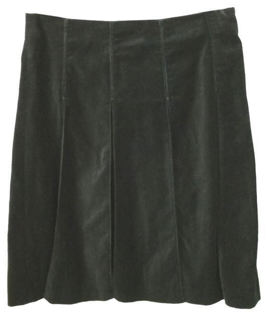 Burberry London Velvet Skirt BLACK