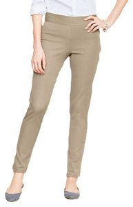 Studio M M Side-zip Ankle Trouser Pants Sand