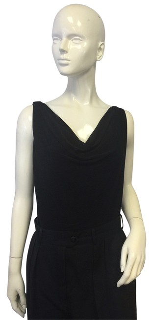 Preload https://item4.tradesy.com/images/norma-kamali-sleeveless-black-xl-blouse-size-16-xl-plus-0x-10298833-0-1.jpg?width=400&height=650