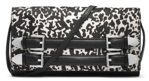 Michael Kors Black and White Clutch
