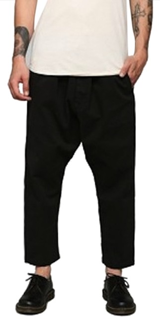 Preload https://item5.tradesy.com/images/kill-city-black-kc-by-tapered-drawstring-capricropped-pants-size-12-l-32-33-10299064-0-1.jpg?width=400&height=650