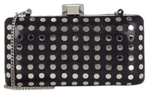 MILLY Black And Silver Clutch