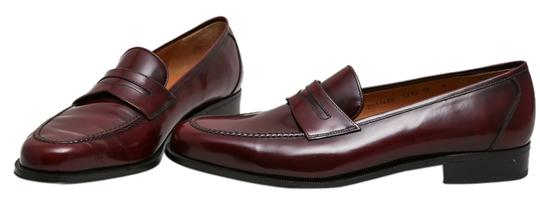 Preload https://item1.tradesy.com/images/salvatore-ferragamo-brown-mens-leather-penny-loafers-flats-size-us-12-regular-m-b-10300210-0-1.jpg?width=440&height=440