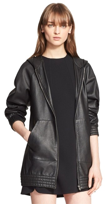 Preload https://item2.tradesy.com/images/alexander-wang-black-oversized-hoodie-hooded-coat-leather-jacket-size-2-xs-10300426-0-1.jpg?width=400&height=650