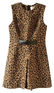 3.1 Phillip Lim Leopard Animal Print Sheath Dress