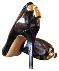 Louis Vuitton Patent Leather Oh Really 9.5 Bordeaux Pumps